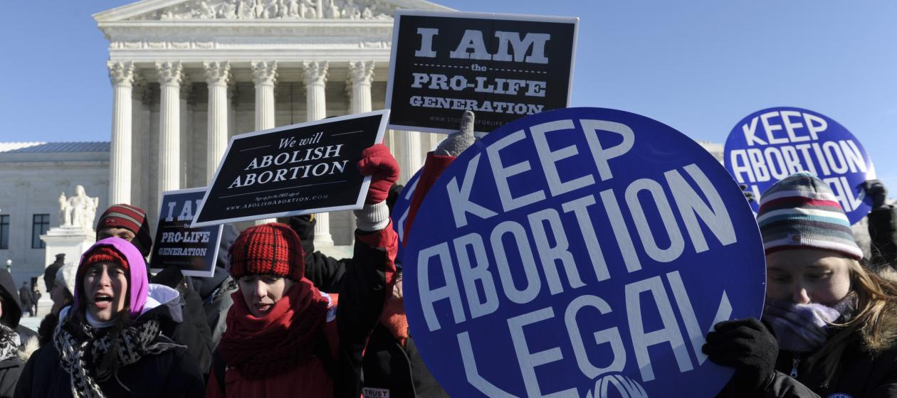 political views of abortion in america