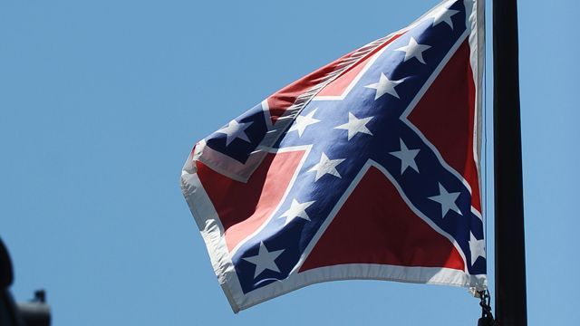 the controversial battle over the flying of the confederate flag on government buildings