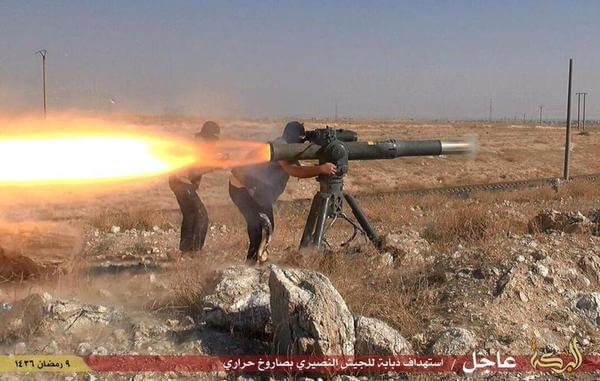 Image result for ISIS WITH TOW