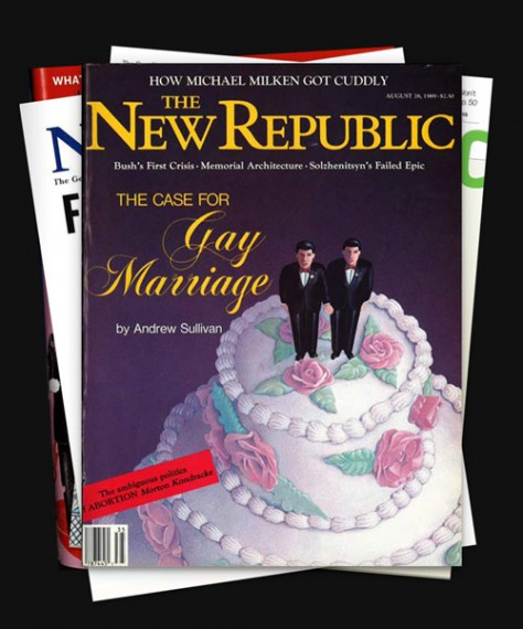 critique of andrew sullivans for gay marriage There was a time when andrew sullivan could make a  i've always thought that promoting sullivan as a spokesman for gay marriage was  or critique.