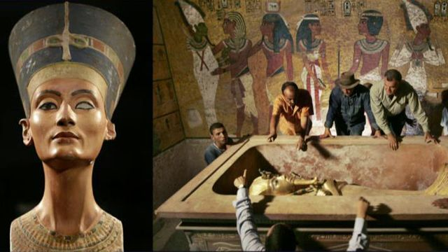 a description of what the tomb of tutankhamen and its contents show about the egyptian concern for t