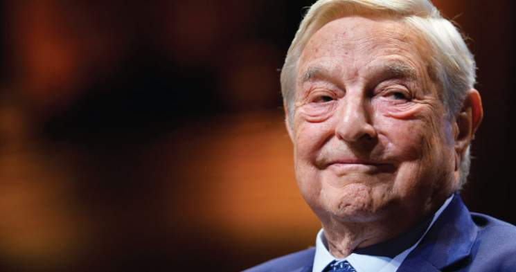Soros Provides Pressure From Above, Below