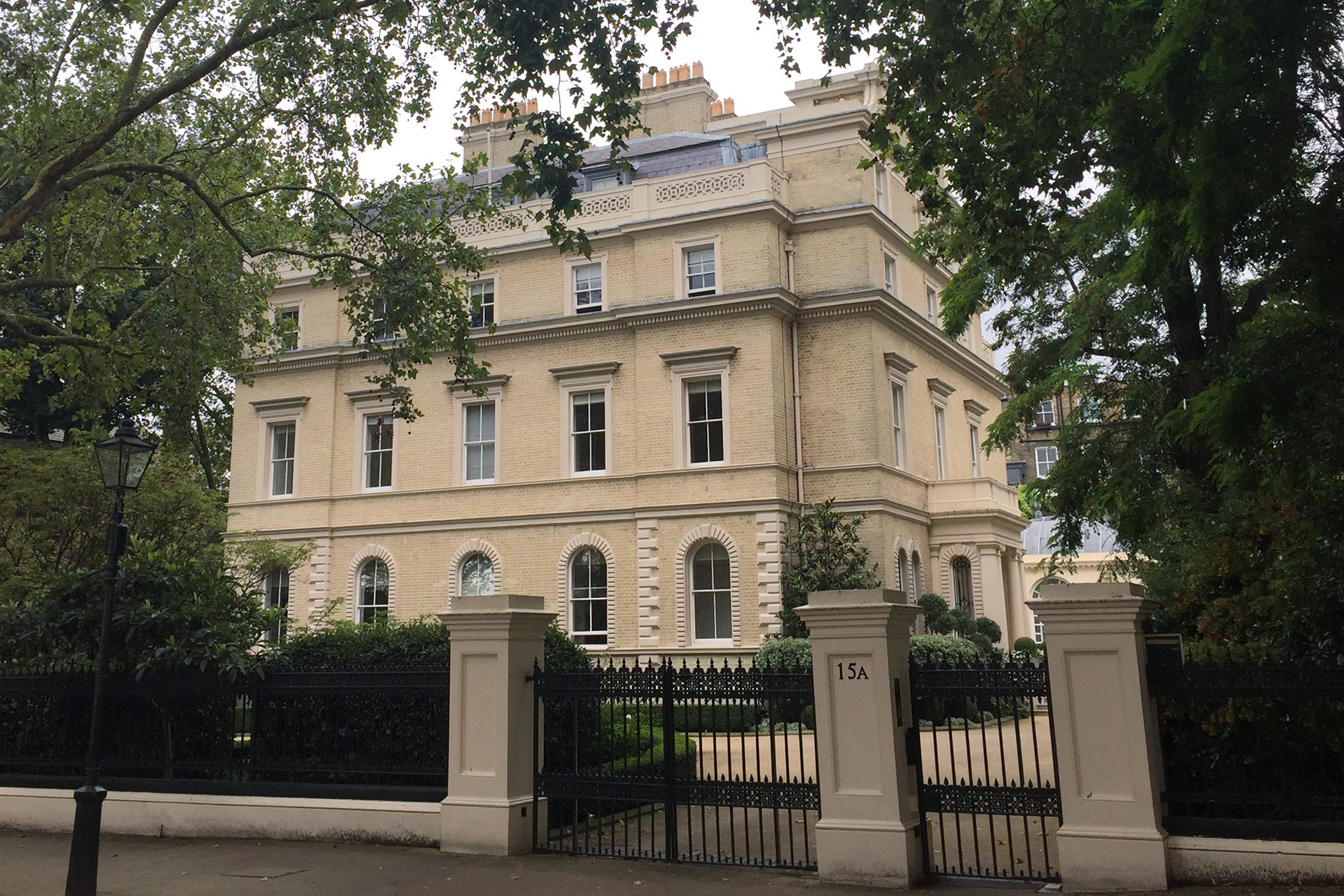 London billionaires row home said to sell for 85 million for The kensington house