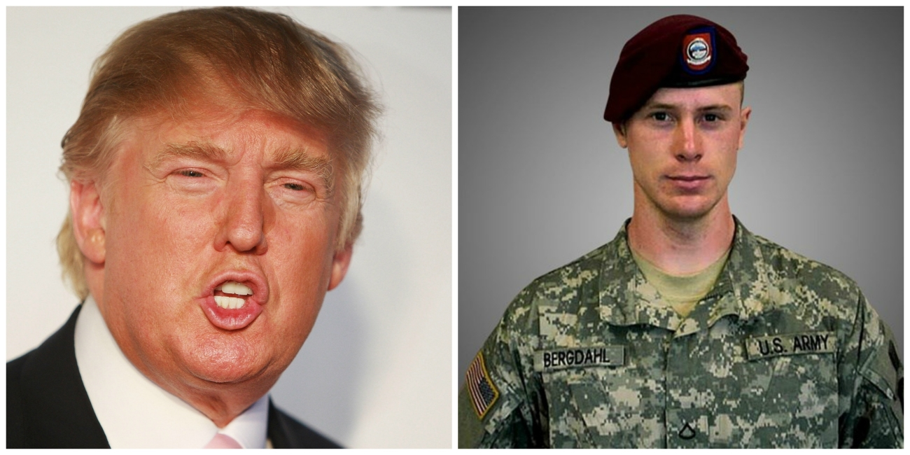 politics donald trump says bowe bergdahl should have been executed