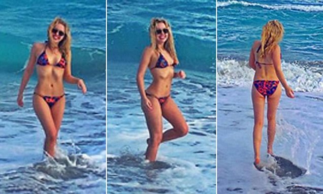The 22-year-old took to Instagram on Tuesday to share a photo collage ...