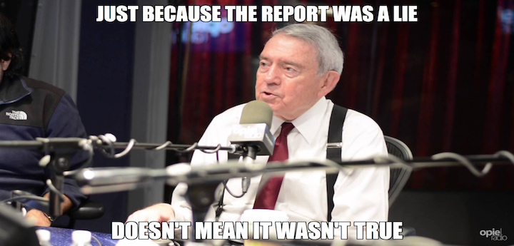 Image result for dan rather meme