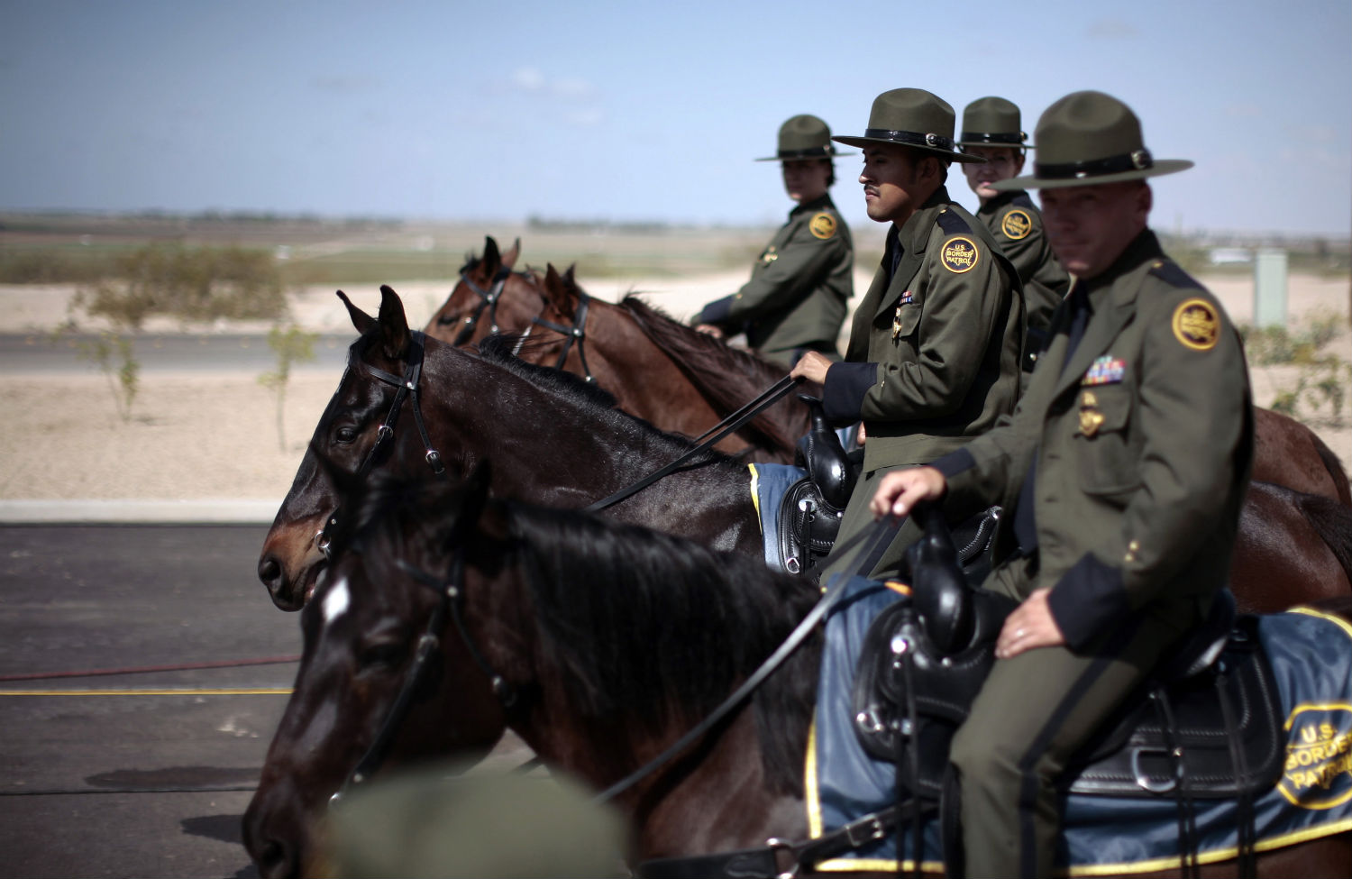 16,500 American Border Patrol Agents Gather Together And Support