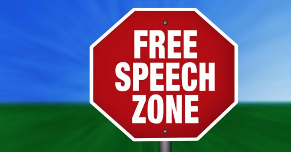 free speech zones Inside higher ed last week ran an obituary for an idea that was doomed from the start: free speech zones on college campuses those zones are often small, hard-to-find areas of campus, and school.