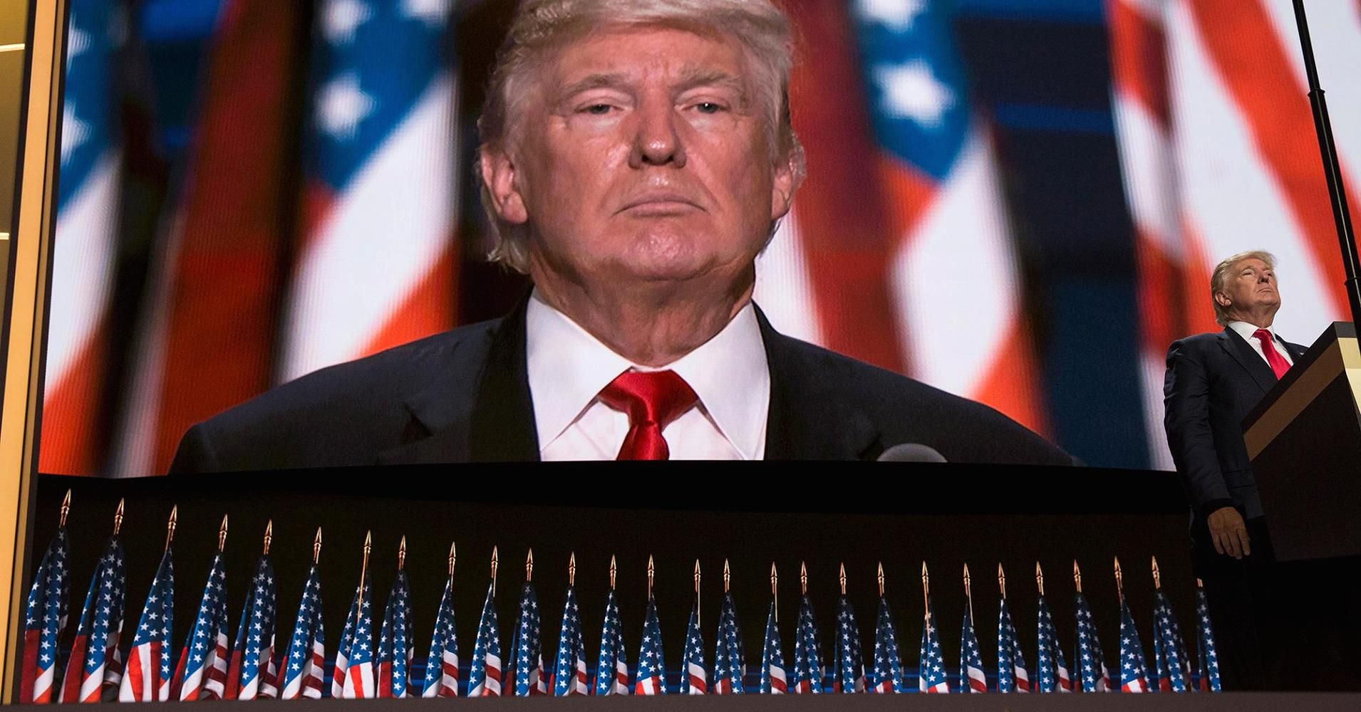 a rhetorical analysis of donald trumps republican national convention speech Political speeches are full of literary / rhetorical devices and donald trump's speech was no exception although my analysis primarily reviews specific devices like anaphora, it also considers.