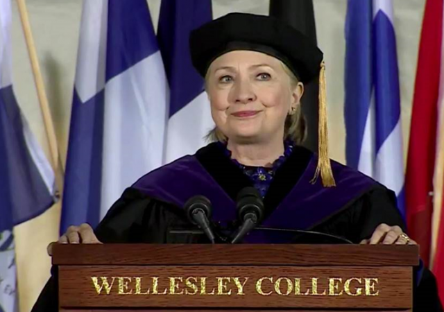 hillary rodhams wellesley thesis Hillary rodham's thesis from 1969 wellesley college, on rules for radicals she met with saul alinsky, interviewed him and was even offered a job by alinsky.