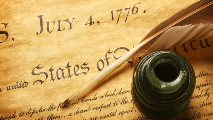 an introduction to the declaration of independence and the history of the united states