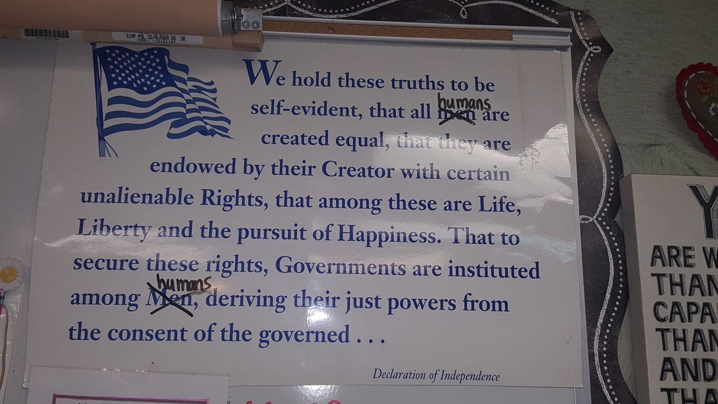 student version of decleration of independence